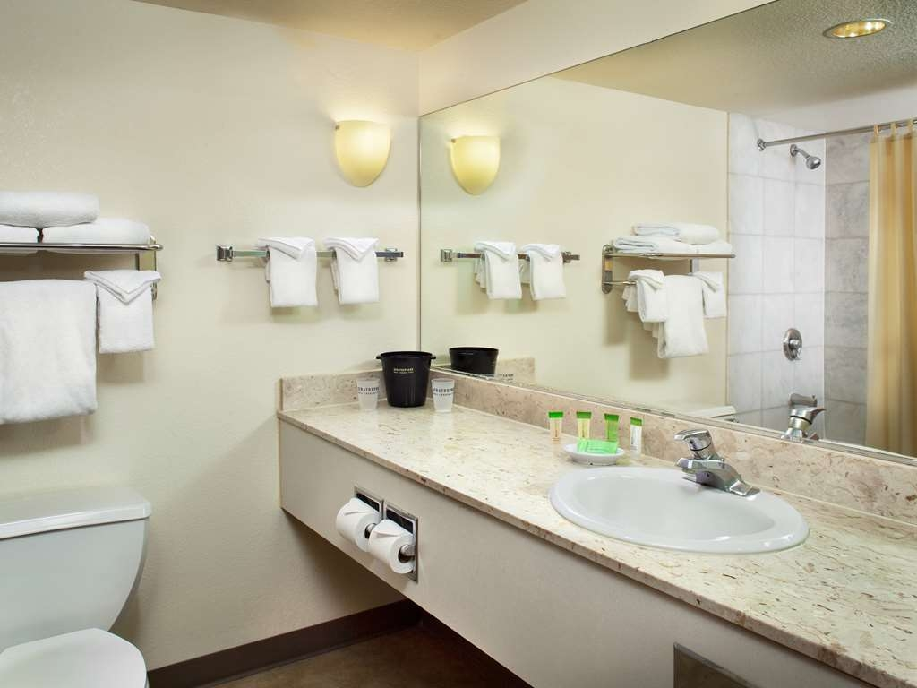 Stratosphere Hotel, Casino & Tower, BW Premier Collection - Central Tower Deluxe Bathroom