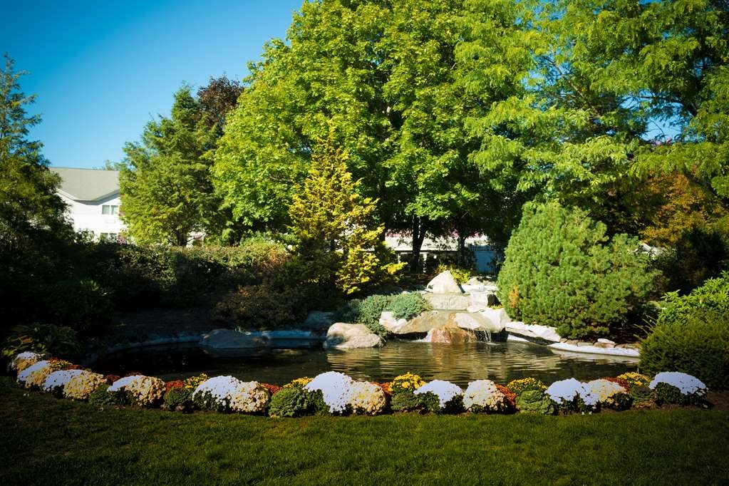 Best Western Plus Executive Court Inn & Conference Center - Come by our garden to experience the peaceful sounds of nature.