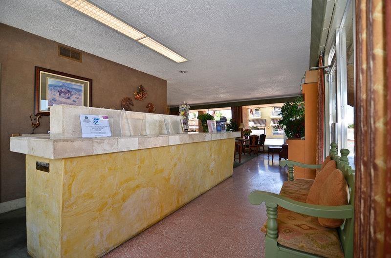 Best Western Rancho Grande - L'un des membres de notre aimable personnel sera présent pour vous accueillir à votre arrivée!