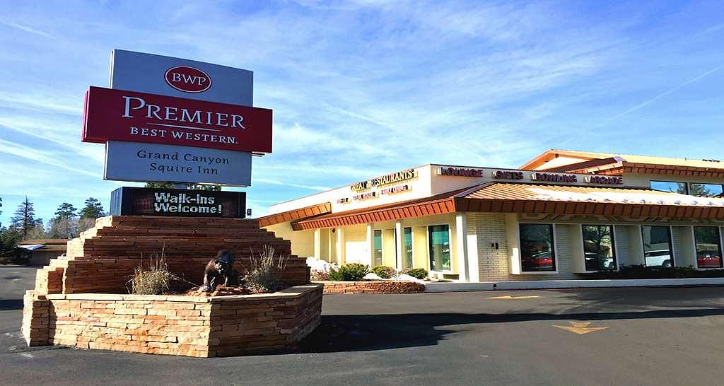 Best Western Premier Grand Canyon Squire Inn - Welcome to the Best Western Premier Grand Canyon Squire Inn!