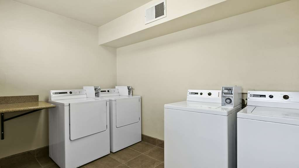 Best Western Desert Inn - Didn't bring enough clean clothes? Take advantage of our guest laundry room. We have supplies for sale at front desk!