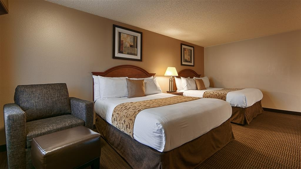 Best Western Prescottonian - Mobility Accessible Double Queen Room