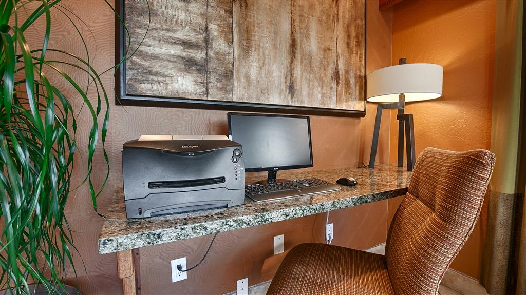 Best Western Prescottonian - Feel free to check your email at our convenient business center.