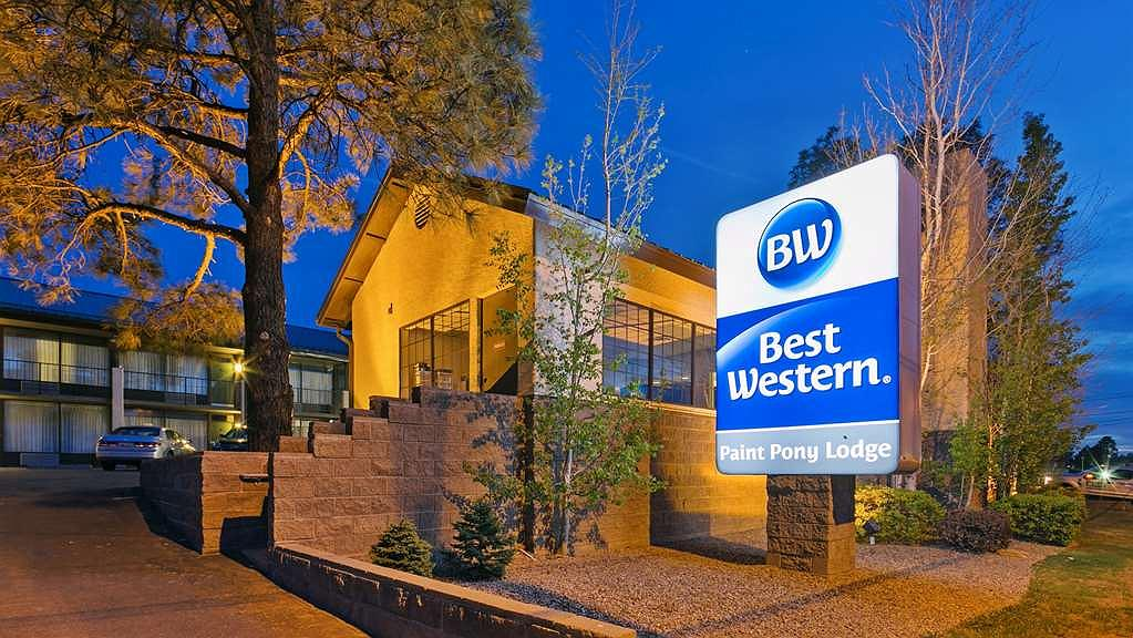 Best Western Paint Pony Lodge - The BEST WESTERN Paint Pony Lodge is surrounded by the majesty of tall pines.