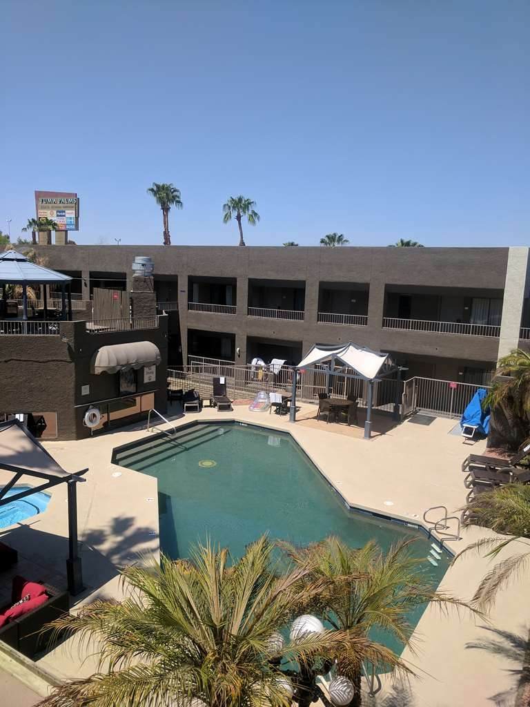 Best Western Yuma Mall Hotel & Suites - Poolansicht