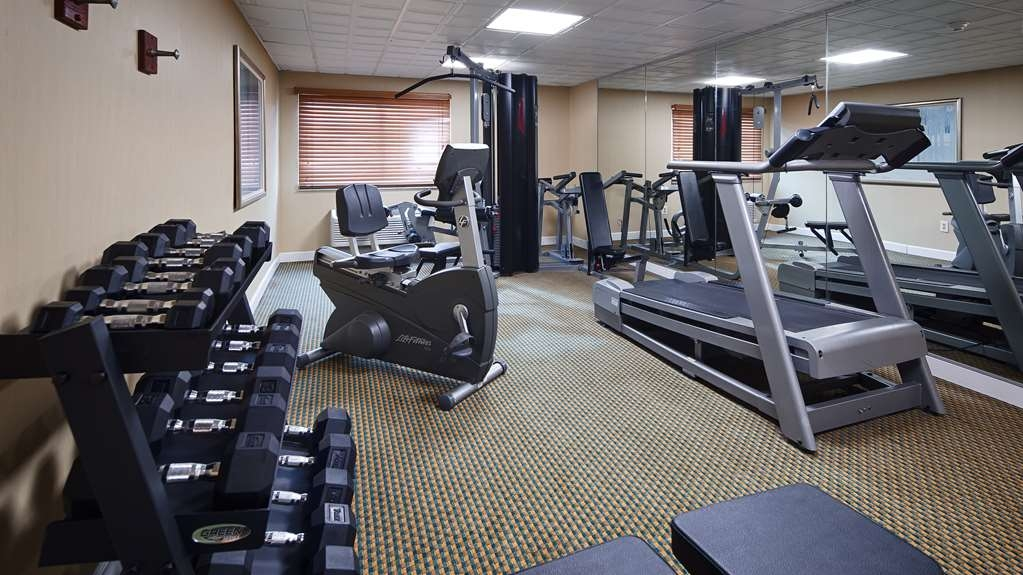 Best Western Burlington Inn - Fitnessstudio