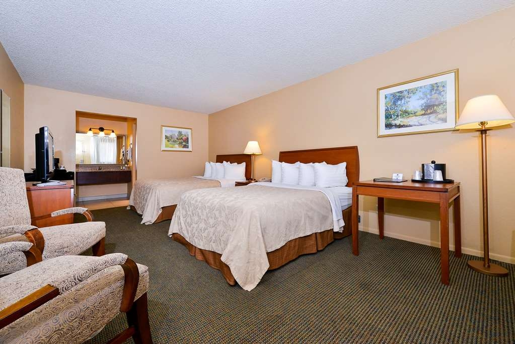 Best Western Cottonwood Inn - Chambre traditionnelle double avec lits queen size