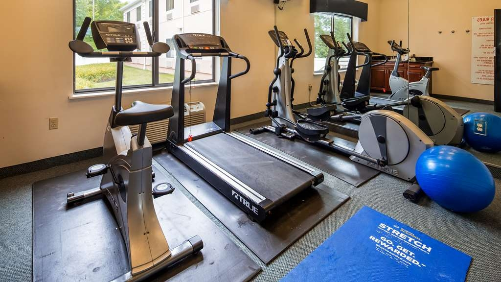 Best Western Monroe Inn & Suites - Club de salud