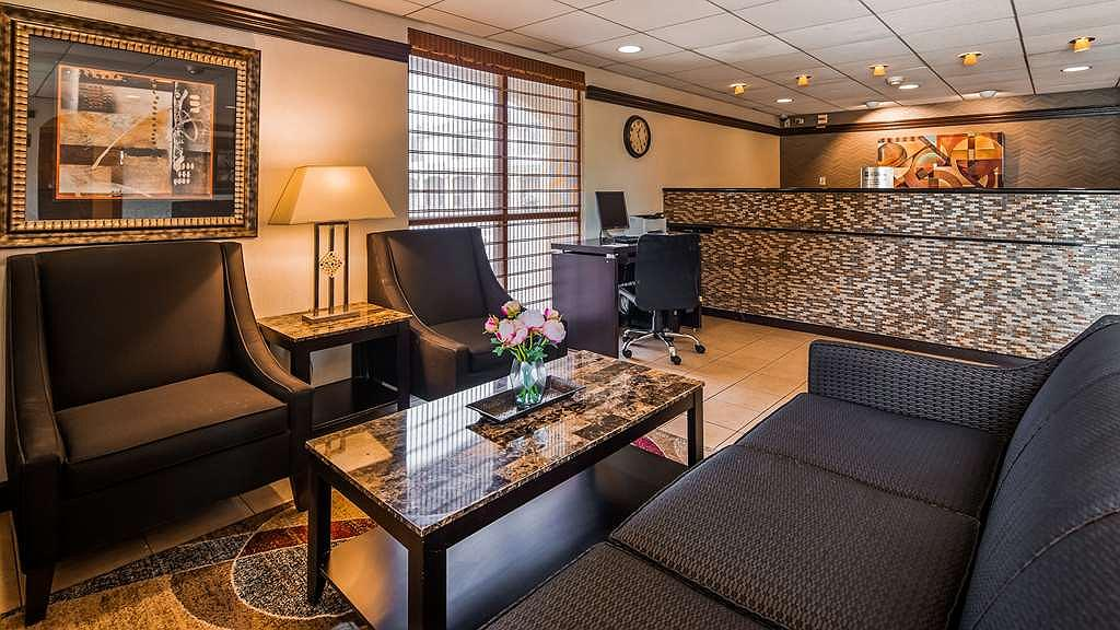 SureStay Hotel by Best Western East Brunswick - Take some time to unwind in our newly upgraded lobby!