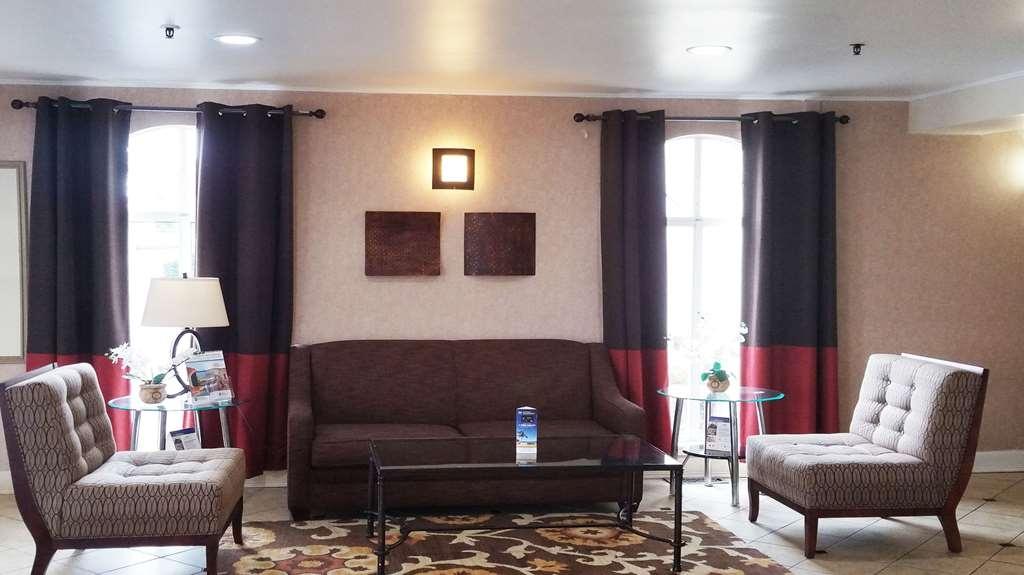 Best Western Hazlet Inn - Vue du lobby
