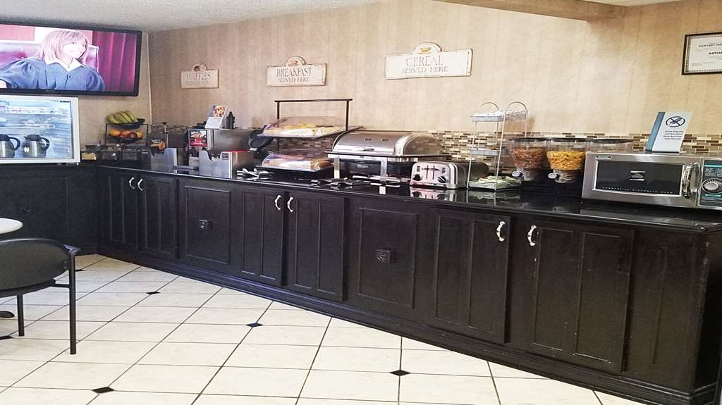 Best Western Hazlet Inn - Breakfast Bar