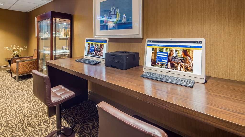 Best Western Plus Robert Treat Hotel - Geschäft-zentrum