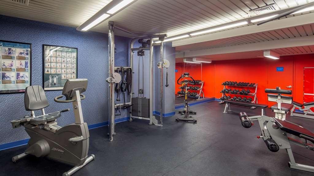 Best Western Plus Robert Treat Hotel - Fitnessstudio