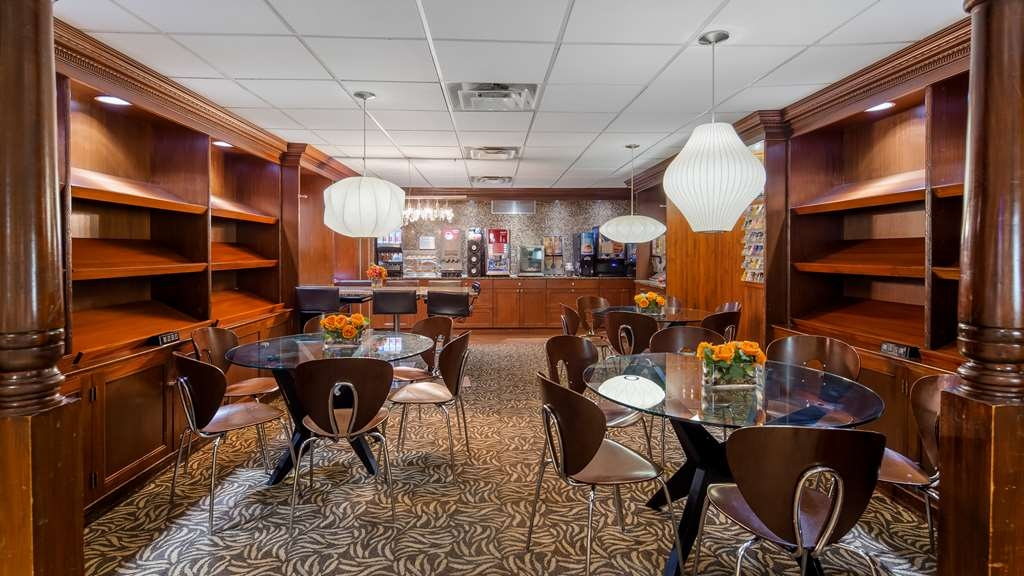 Best Western Plus Robert Treat Hotel - Restaurant / Gastronomie