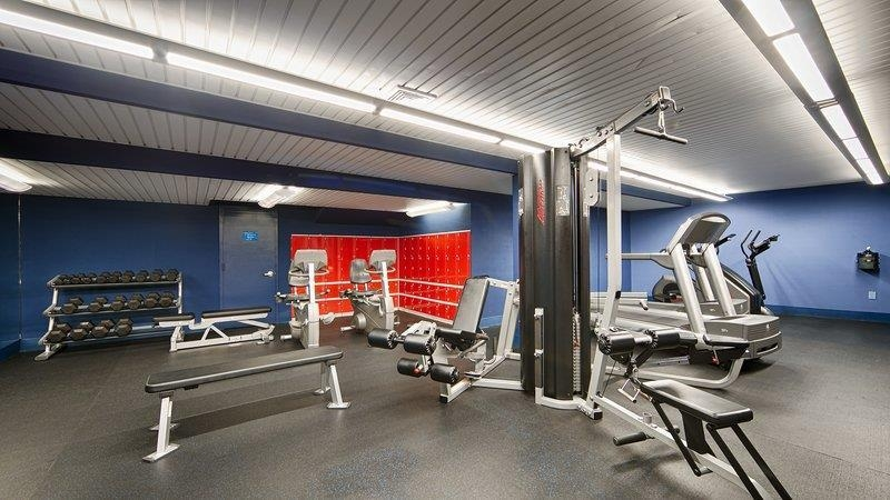 Best Western Plus Robert Treat Hotel - Sala fitness