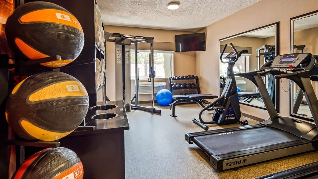 Best Western Plus at Lake Powell - Take advantage of our fully equipped fitness center to stay on top of your routines.