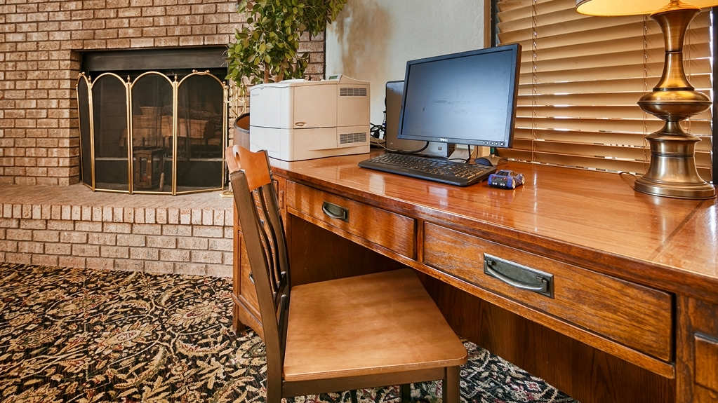 Best Western Sawmill Inn - Keep connected with loved ones with our business center.