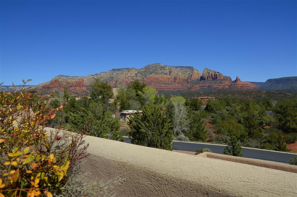 "Best Western Plus Inn of Sedona - The view to the northeast from the ""sunrise' side of our promenade terraces."