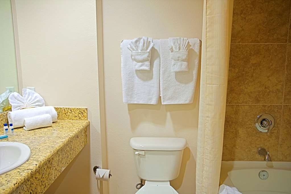 Best Western Legacy Inn & Suites - Our bathrooms are stocked with the amenities you need.