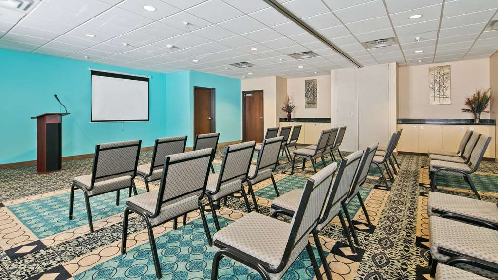 Best Western Sonora Inn & Suites - Meeting Room for our Corporate guests, available upon request with projector, screen and requested type of setup, eg. classroom style etc.