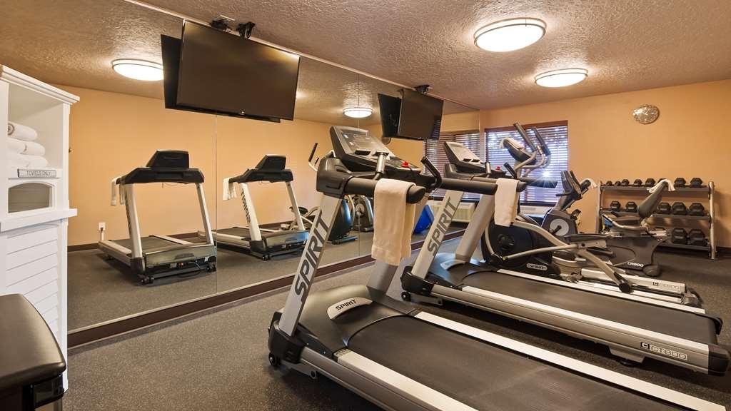 Best Western Airport Albuquerque InnSuites Hotel & Suites - Fitnessstudio