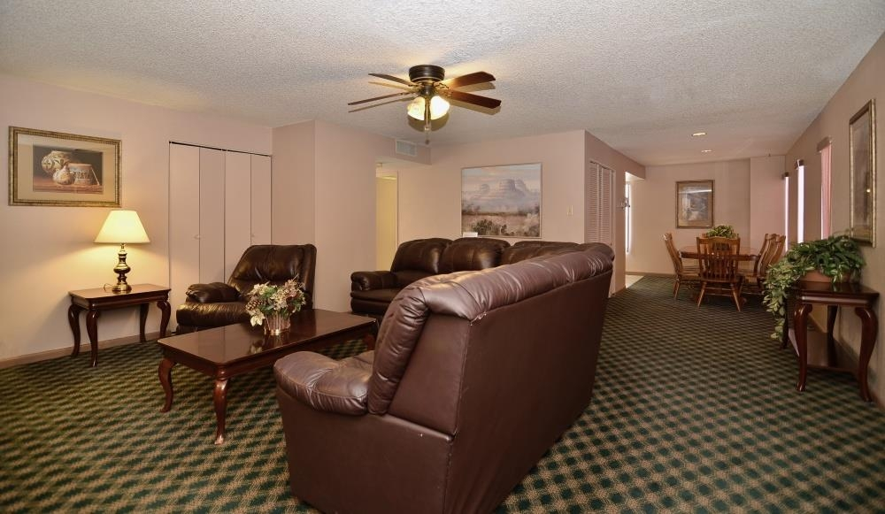 Best Western Pecos Inn - The guest suite living area contains all the space and amenities you need to accommodate extra guests!