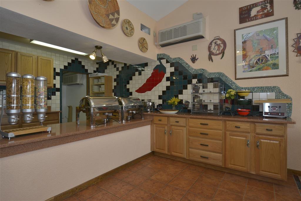 Best Western Kokopelli Lodge - Desayuno Buffet