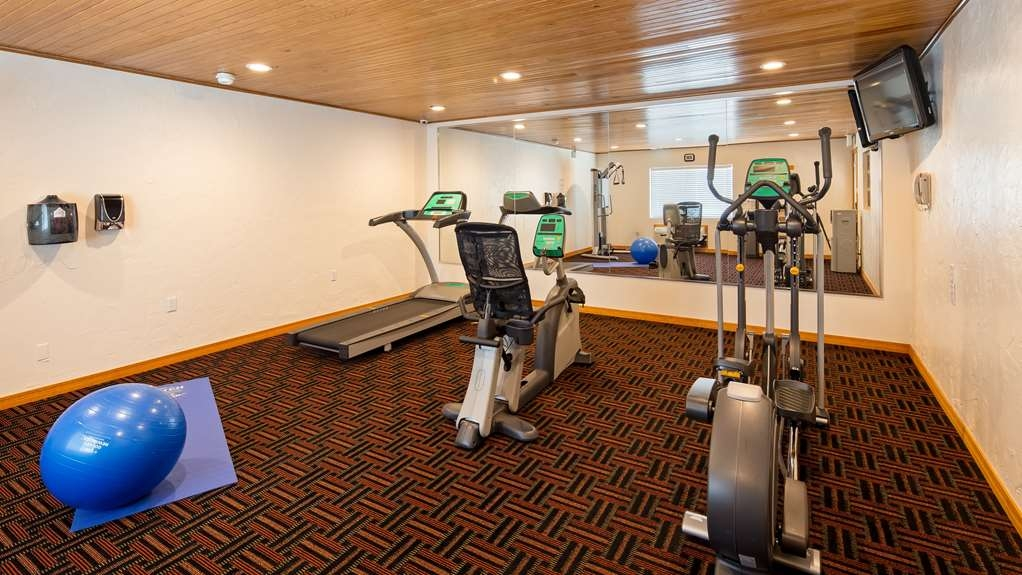 Best Western Kokopelli Lodge - Our fitness center allows you to keep up with your home routine even when you're not at home.