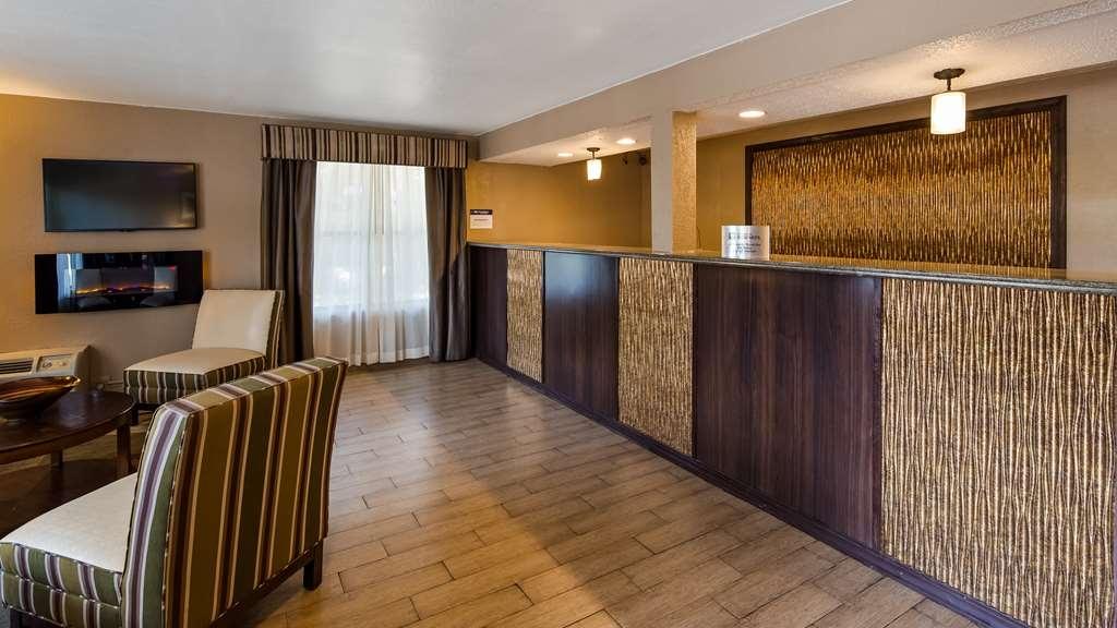 Best Western Pine Springs Inn - Vue du lobby