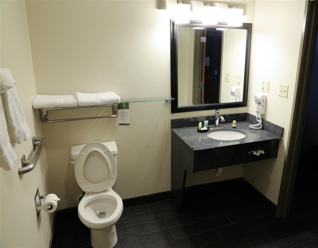 Best Western Plus The Four Corners Inn - Mobility Accessible Bathroom