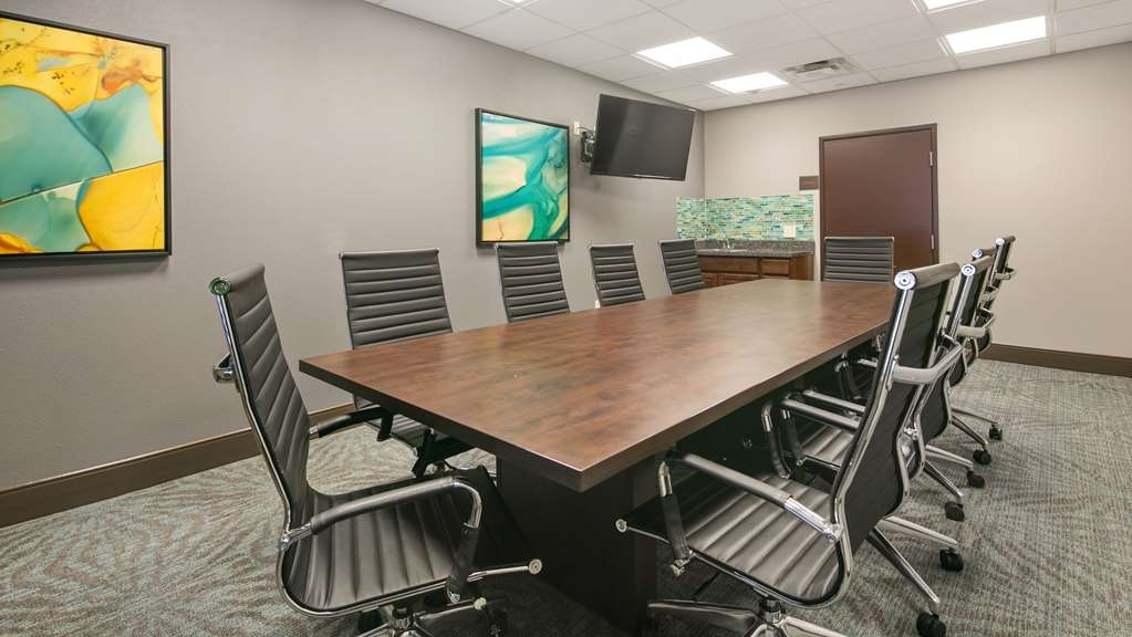 Best Western Plus Gallup Inn & Suites - Our Boardroom can accommodate a small meeting