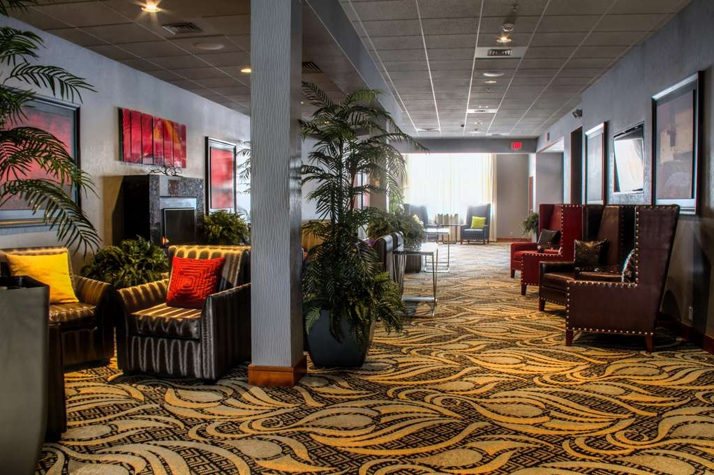 Best Western Plus Oswego Hotel and Conference Center - Make sure your clients or guests are comfortable before and after meetings in our conference lobby.