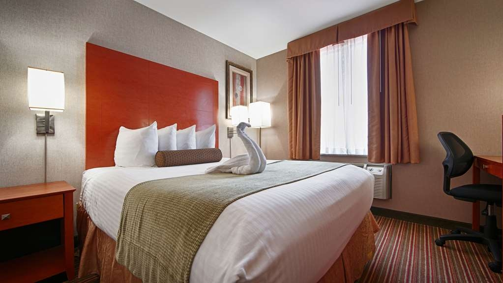 Best Western JFK Airport Hotel - Comfort and solitude awaits you in our queen guest room.