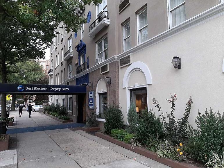 Best Western Gregory Hotel - Area esterna