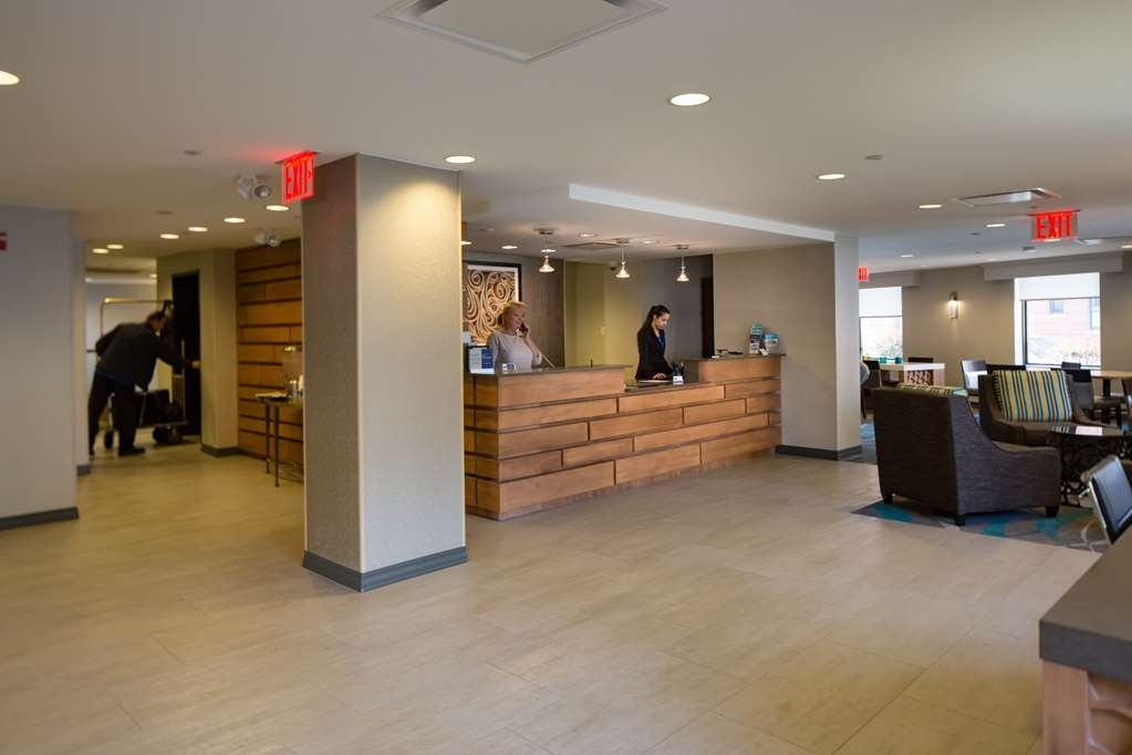 Best Western Gregory Hotel - Front Desk