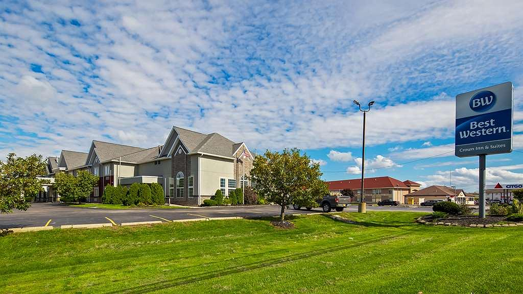 Best Western Crown Inn & Suites - Vista exterior