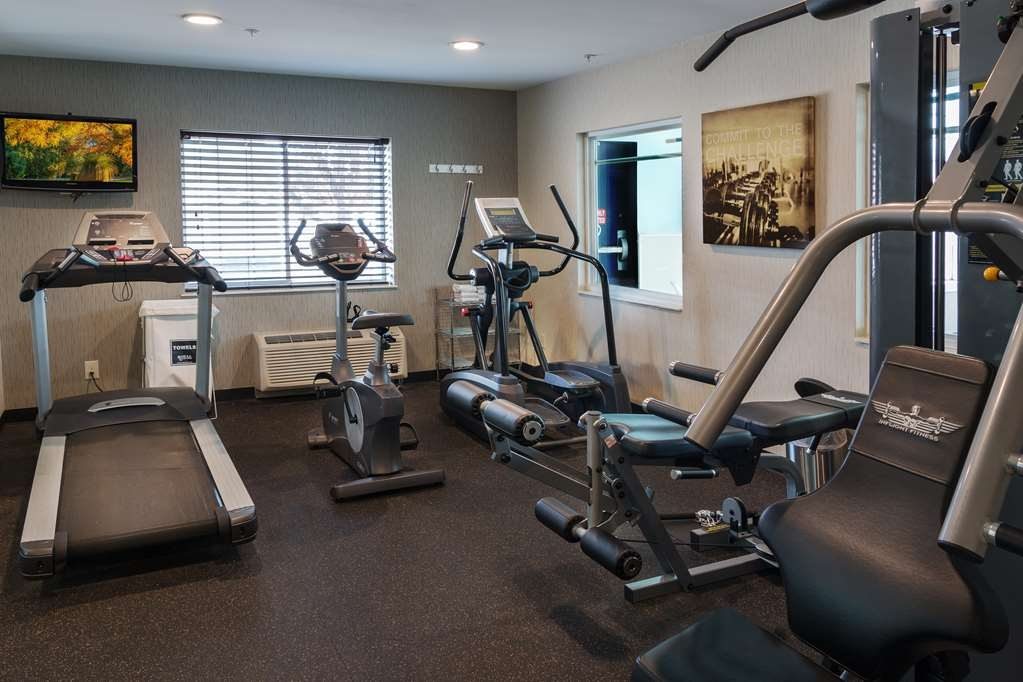 Best Western Crown Inn & Suites - fitnessraum