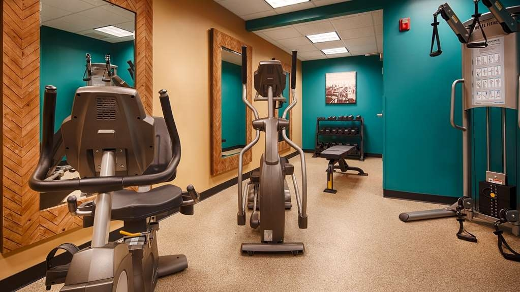 Best Western Plus University Inn - Fitnessstudio