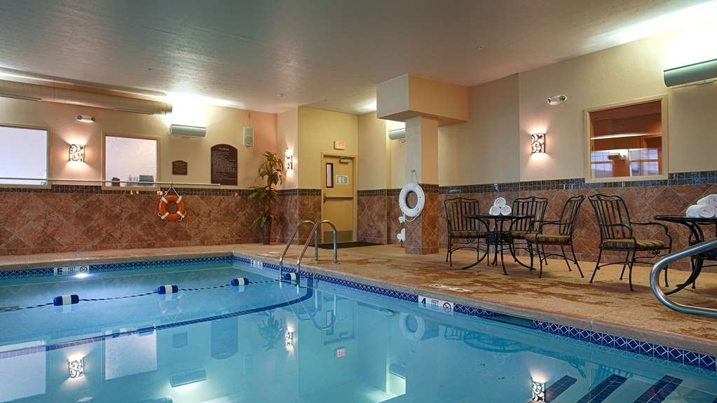 Best Western Plus Vineyard Inn & Suites - Our heated indoor pool is open year-round for you to relax after a long day touring around the Finger Lakes.