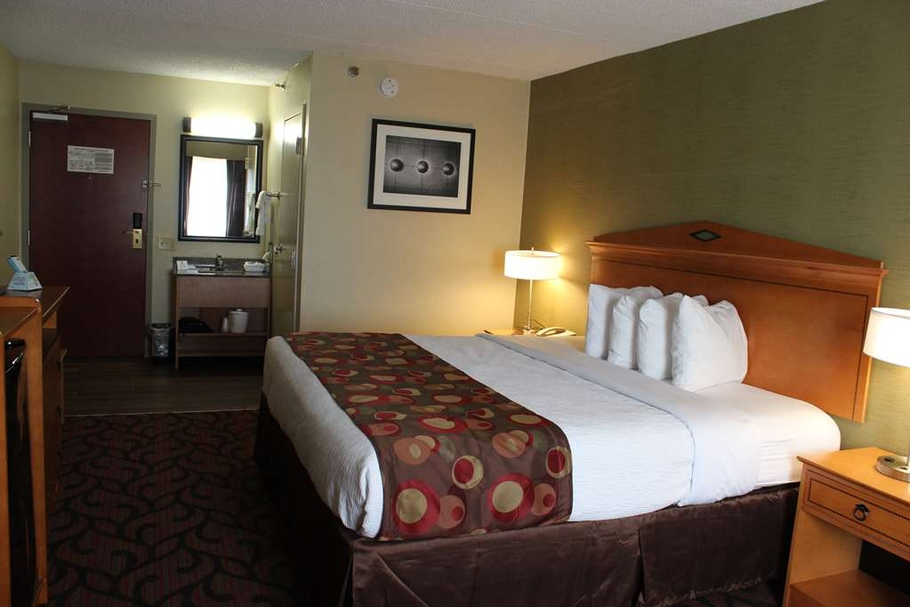 Best Western Rochester Marketplace Inn - Our spacious king guest room has all the comforts of home at your fingertips.