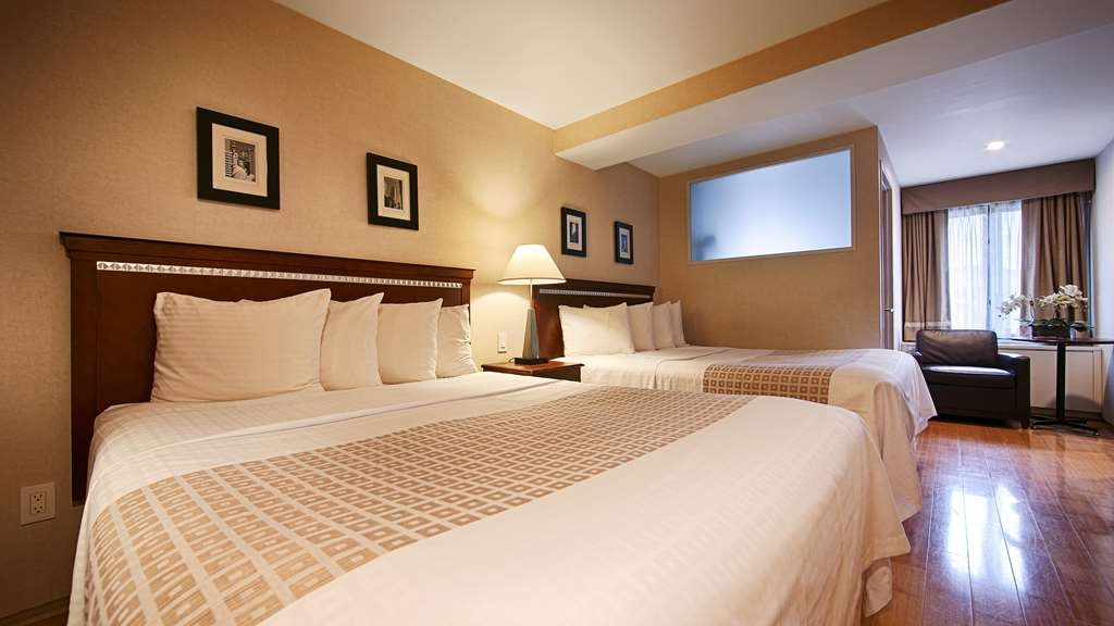 Best Western Bowery Hanbee Hotel - Book our delightful 2 queen guest room when traveling with friends.