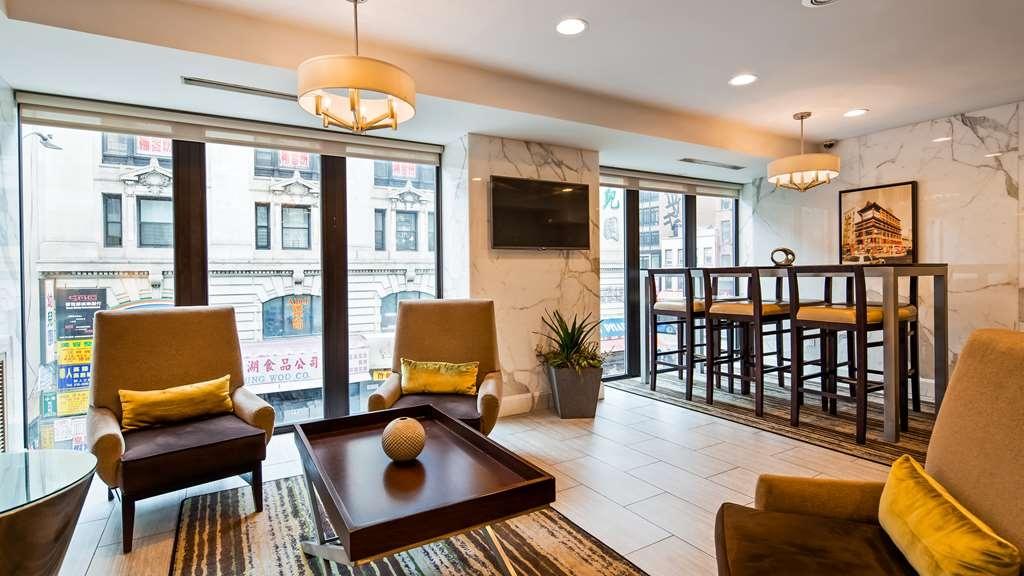 Best Western Bowery Hanbee Hotel - Vista del vestíbulo