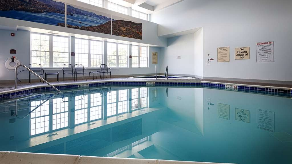 Best Western Plus Ticonderoga Inn & Suites - Don't let the weather stop you from jumping in our indoor pool is heated year-round for you and your friends.