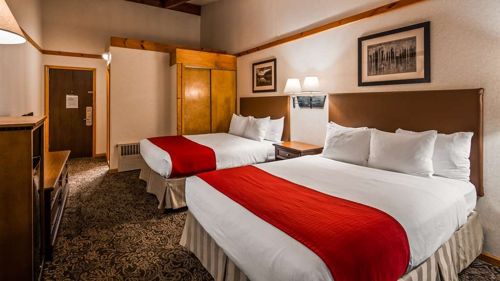 Best Western Adirondack Inn - 2 Queen Beds - 2nd Floor