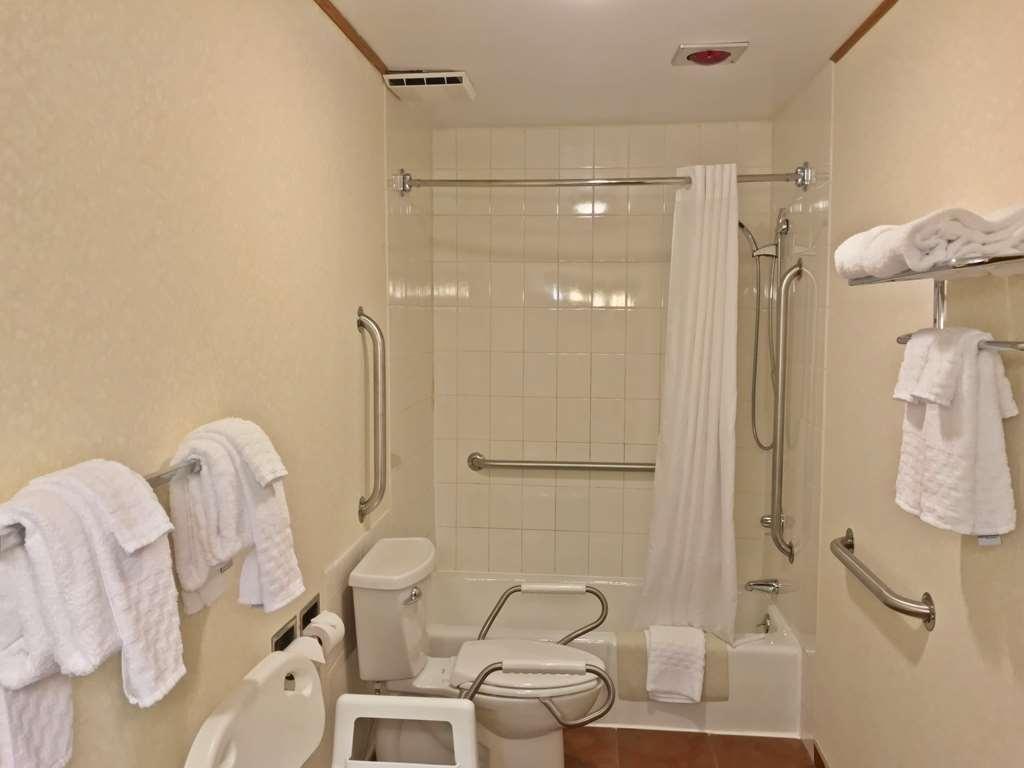Best Western Adirondack Inn - handicapped bath