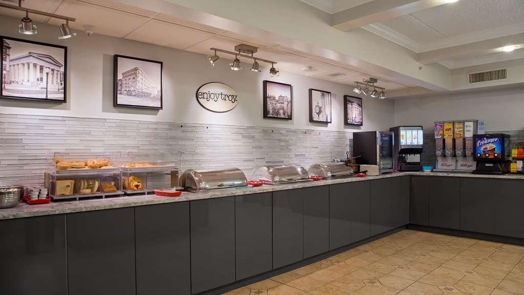 Best Western Plus Franklin Square Inn Troy/Albany - Breakfast