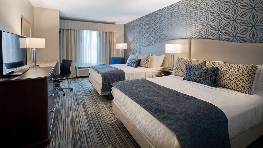 Best Western Plus Franklin Square Inn Troy/Albany - Two Queen Deluxe Guest Room