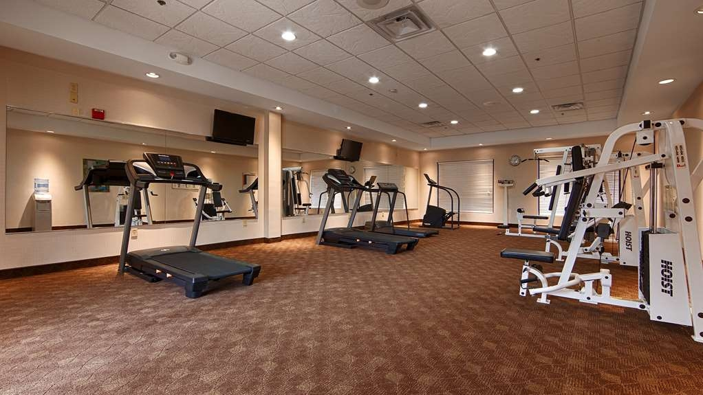 Best Western Plus Galleria Inn & Suites - Our fitness center allows you to keep up with your home routine… even when you're not at home.