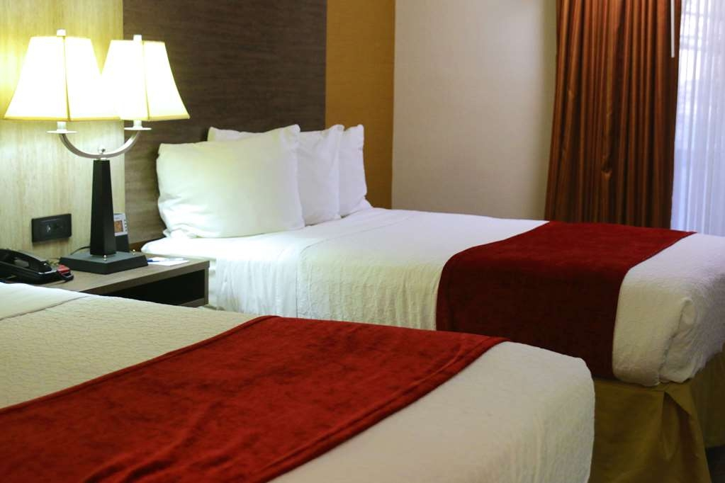 Best Western Plus Galleria Inn & Suites - Relax after a long day of travel in our two double bed guest room.