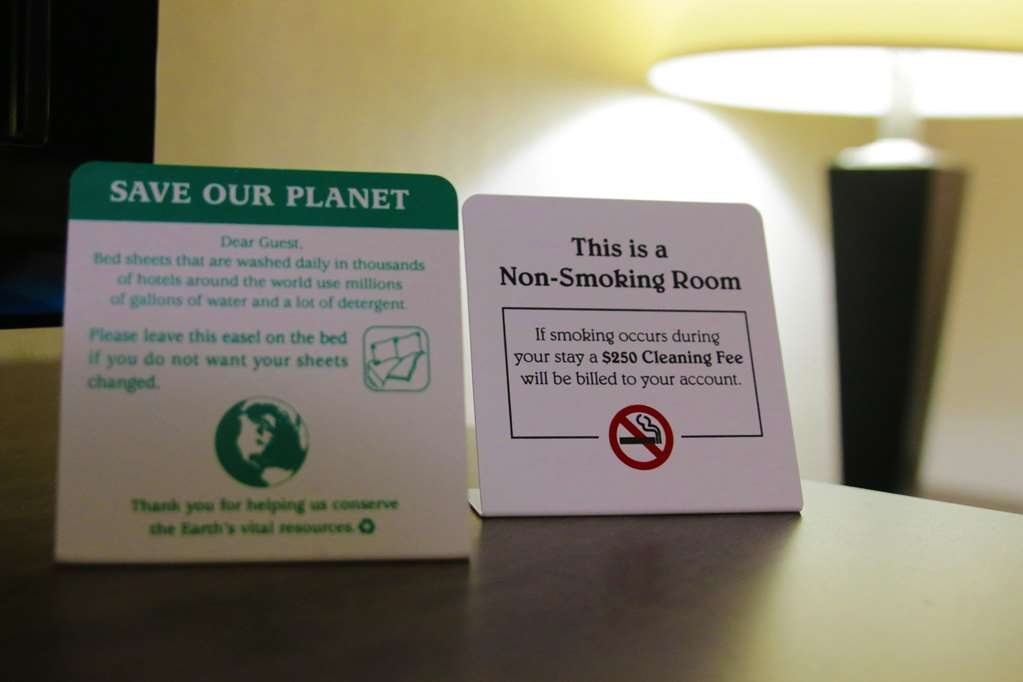 Best Western Plus Galleria Inn & Suites - All of our rooms are non-smoking.